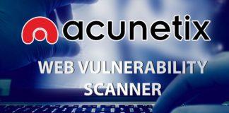 Acunetix Vulnerability Scanner