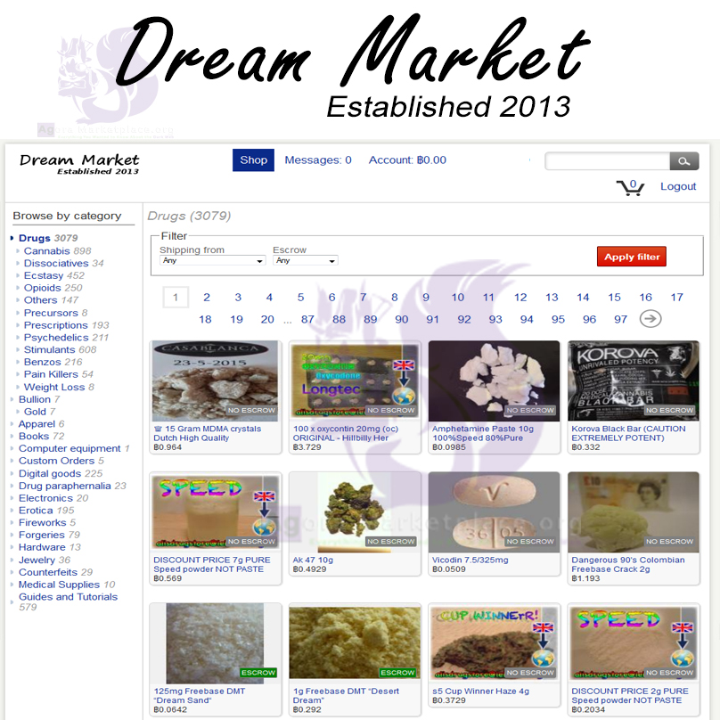 DarkWeb Dream Market Has Been Discovered By Feds