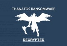 Thanatos ransomware decryption tool