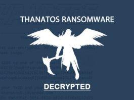 Thanatos ransomware decryption tool