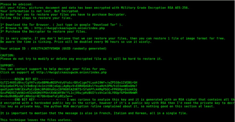 PyLocky Ransomware Decryption Tool Released For Free